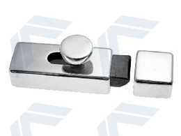 Spring loaded door latch