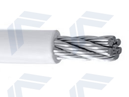 PVC coated wire rope 7x7