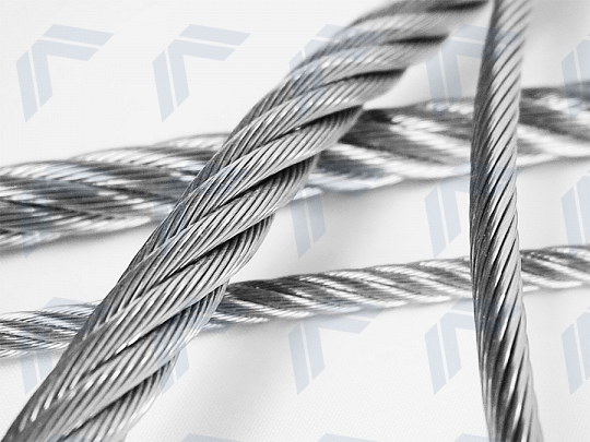 Stainless steel ropes and accessories